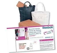 Longchamp propose à ses fans de personnaliser leur sac. Reebok va plus loin en leur proposant de soumettre de nouveaux concepts de produits.