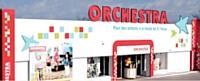 L'une des 137 succursales d'Orchestra, d'une superficie de 600 m2, au sein d'une zone commerciale à proximité de Montpellier.