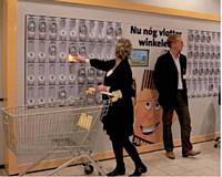 Le self scanning a été mis en place dans les boutiques du groupe alimentaire Delhaize.