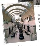C'est une ancienne gare qui abrite, depuis 1986, le musée d'Orsay