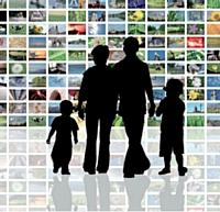 en 2010, près d'un Français sur trois est en rapport avec au moins quatre grands médias au cours d'une journée.