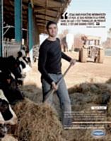 A travers sa nouvelle campagne qui se veut «humaniste», Danone met en avant ses liens avec les producteurs laitiers.