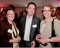 4 Régine Eveno (Marketing Magazine), Christophe Poissonnier (Ciel) et Dominique Servant (Adetem)