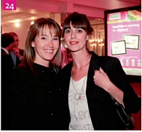 24 Géraldine Myoux (HighCo Shopper) et Karine Perrier (HighCo Shopper)