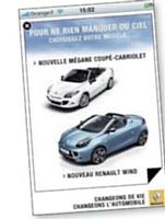 Pour mettre en avant ses modèles estivaux, Renault a choisi le format AdinApp, proposé par la régie d'Orange.