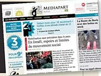 Mediapart, fondé par des ex-journalistes du Monde, est un exemple de solution hybride, entre médias à l'ancienne avec abonnement et médias nouveaux, avec blogs, participation des lecteurs et version numérique.
