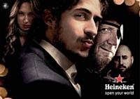 Heineken cherche à créer le buzz en diffusant des vidéos publicitaires sur le Web, accessibles dans plus de 20 pays.