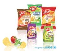 Nude a accompagné Vico lors du récent positionnement de la marque, en créant un autre logo et en relookant le packaging.