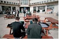 Le campus de l'une des écoles du groupe Ionis, qui forme les étudiants aux nouvelles technologies.