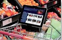 Chez Sainsbury's, en Grande-Bretagne, les chariots sont équipés d'iPads.