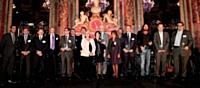 Les lauréats lors de la remise des trophées, le 21 septembre.