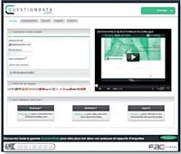 QuestionData.com est une solution permettant de concevoir tous les types de questionnaires.