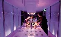 Electrolux Art Home, une opération pour laquelle le chef Gilles Stassart cuisinait pour une douzaine de personnes.