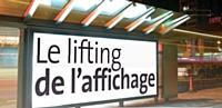 Le lifting de l'affichage