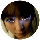 La coréenne Soomi Park et son Led Eyelash, dont s'est inspiré Dior pour ses faux cils en plume.