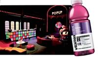 Le lancement confidentiel de Vitamin Water, au théâtre Renaud, à Paris.
