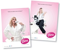 La campagne de Chérie FM met en scène l'auditrice type a chaque moment de la journée.