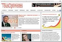 Le site Tousoptimistes.com rassemble des témoignages relatifs à la notion de bonheur.