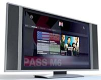 L'application M6 sur la console Xbox 360 de Microsoft pourrait marquer une nouvelle étape vers la télévision de demain.