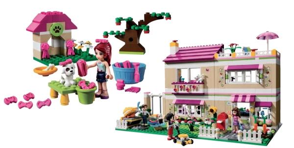 lego a particulirement soign les modles les dtails le story telling pour sduire les petites filles