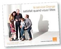 Orange se différencie grâce à la qualité de son service client.