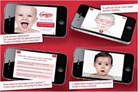 Guigoz lance la première application iPhone et iPad qui traduit simultanément le langage des bébés.
