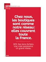 SFR raille la pauvreté du réseau du nouvel opérateur.