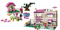 Lego a particulièrement soigné les modèles, les détails, le story telling pour séduire les petites filles.