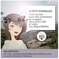 Le Petit Marseillais recrute des animatrices sur les réseaux sociaux.