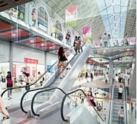 La nouvelle zone commerciale de la gare Saint-Lazare comprend de grandes enseignes telles que Carrefour City, Monop', Virgin ou Autogrill.