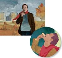 Oscillococcinum: le personnage mythique change au fil des années mais... garde son écharpe rouge.
