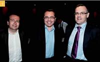 1 Franck Lewkowicz (Orange Advertising Network), Manuel Berquet-Clignet (Coca-Cola France) et Xavier Duchemin (Citroën)