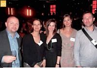 11 David Garbous (Lesieur), Catherine Heurtebise (Marketing Magazine), Gilles Pacault (Prodimarques) et Romain Nouffert (Lesieur)