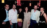 24 Stéphane Fauchet (Editialis), Nicolas Chabanne (Le Petit Producteur), Amelle Nebia (Marketing Magazine), Stéphane Grandcamp, Hérard de Pins et Elisabeth Chabanne (Le Petit Producteur).