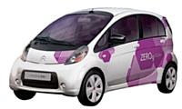 Nouvelle motorisation et nouveau design pour la nouvelle génération d'automobiles (ici la Citroën C-Zéro).