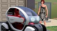 Pour séduire les jeunes, Renault a placé sa Twizy électrique dans le jeu vidéo Sims 3.