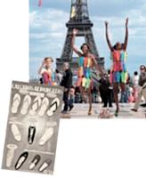 De la Tradicional en 1962 aux Rain Boots en 2011, en passant par la Top en 94, la Slim en 2006 et les espadrilles en 2010, «c'est toujours l'été avec Havaianas».