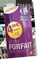 Carrefour lance une offre mobile à moins de 5 euros par mois.