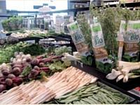 L'aménagement , des magasins Coeur de Nature se veut plus chaleureux que celui des boutiques bio traditionnelles.