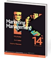 Marketing Management, par Philip Kotler, Kevin Keller et Delphine Manceau. Pearson France, 841 pages. 14e édition 2012.