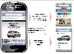 Nissan opte pour l'iPhone sur le site dédié du Figaro