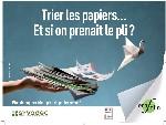 EcoFolio sensibilise au tri des papiers
