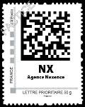 Nexence crée son timbre poste 2D