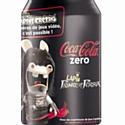 Les Lapins crétins s'affichent sur les canettes de Coca-Cola
