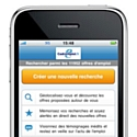 Cadremploi sort son application iPhone