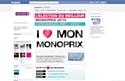 """""""I love mon Monoprix"""" sur Facebook"""