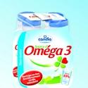 Nouveau design pour les laits enrichis frais Candia