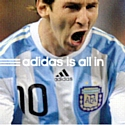 Campagne mondiale Adidas is all in