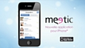 Meetic en campagne pour l'iPhone
