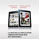 Libération sort une nouvelle version de son application iPad